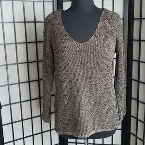 Aritzia Babaton Linen and Silk Blend Sweater